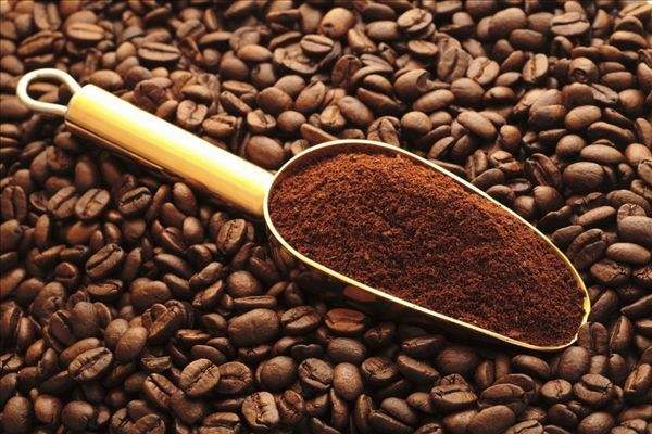 How to make coffee powder